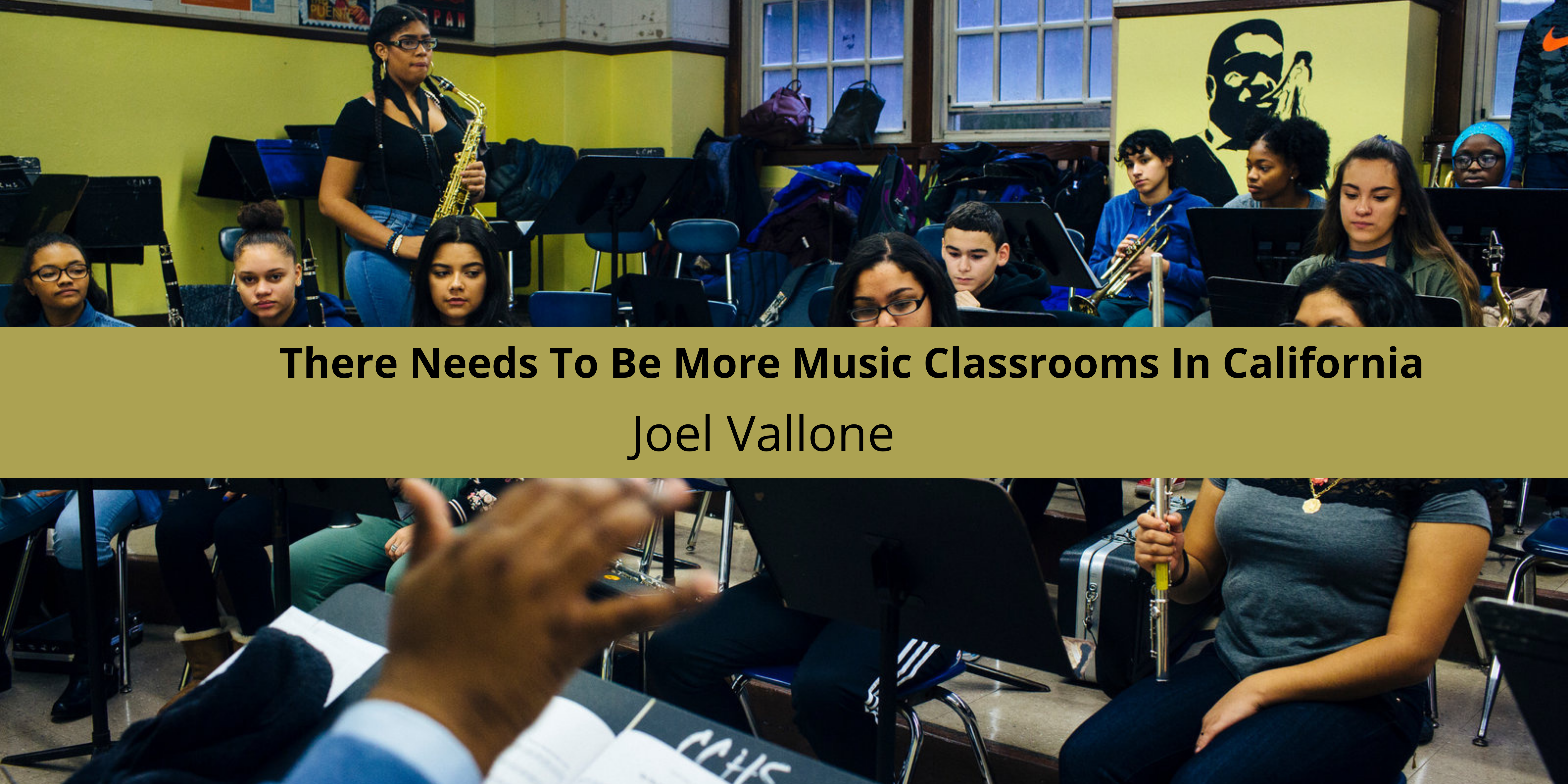 There Needs To Be More Music Classrooms In California